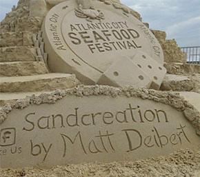 Matt Deibert Sand Sculptures